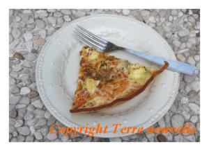 tarte tomate et fromage de chèvre facile