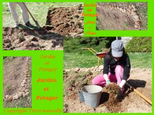 préparer le sol du potager