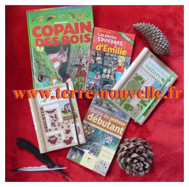 5 livres pour enfants aventuriers trappeurs