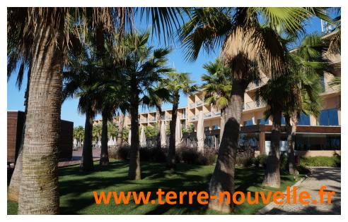 Sud du Portugal, l'Algarve, notre hôtel, le paradis en Europe !...