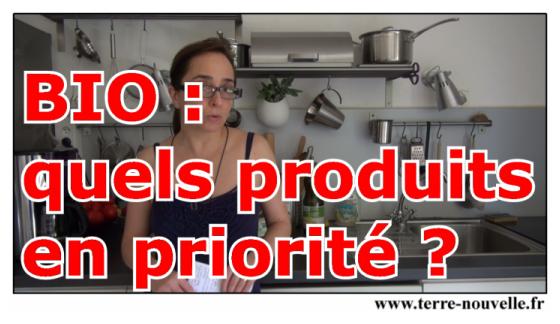 BIO : quels produits bio devons-nous manger en priorité ?...