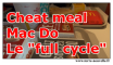 cheat meal mac do : le full cycle