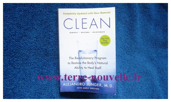 CLEAN, programme de détoxification d'Alejandro Junger