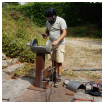 comment fabriquer un rocket stove, poele dragon