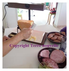 pratique comment faire une raclette sans tefal revetement anti adhesif