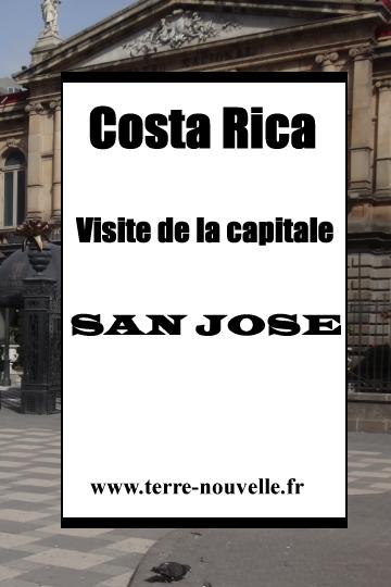 Costa Rica : visite de San José, la capitale