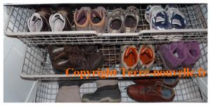Développement personnel : pas de chaussures dans la maison