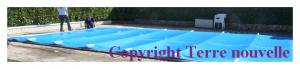Hivernage d'une piscine avec couverture basse