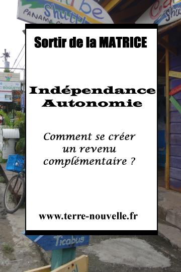 Indépendance, Autonomie : comment se créer un revenu complémentaire ?