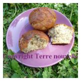 Muffins amande graines de pavot