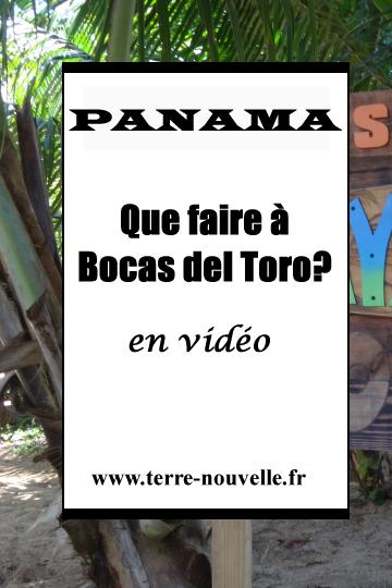 Panama : archipel de Bocas del Toro. Que faire à Bocas del Toro ?