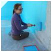 pisicne : remplacer un liner par une peinture pour piscine, notre expérience