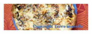 Pizza aux blettes, tomates, comté et oeufs
