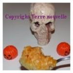 Gratin de potiron d'Halloween