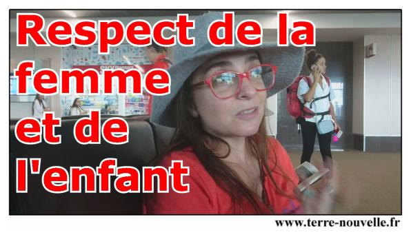 Respect de la femme et de l'enfant : Costa Rica versus France, et s'il y avait un problème ?...