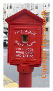 San Francisco : borne alerte incendie Fire Alarm