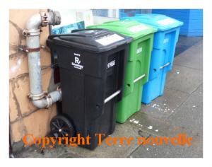 San Francisco : trois poubelles de trois, presque partout