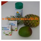 Shake mangue ananas coco, détox Clean