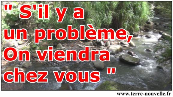 """On a tous entendu, en tant que survivaliste : """"Si'y a un problème, on viendra chez vous"""" !..."""