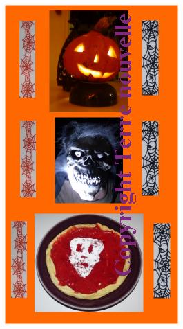 Soirée d'Halloween : repas, gâteau, cocktail et jeux d'Halloween