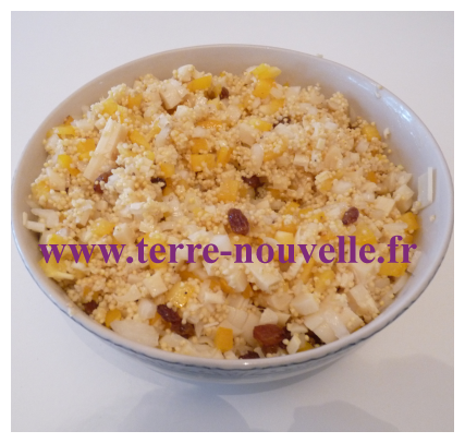 Taboulé de millet, une recette de taboulé sans gluten