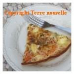 Tarte tomate fromage de chèvre facile