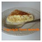 Tortilla omelette de pomme de terre
