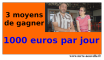 comment gagner 1000euros par jour