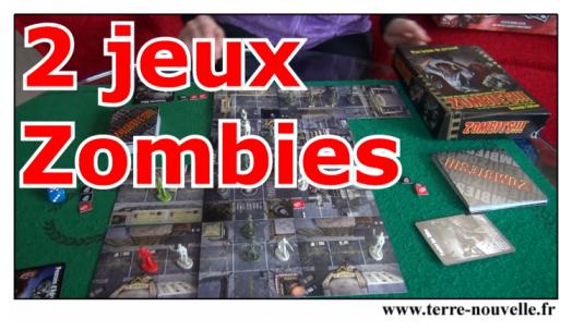 2 jeux de Zombies : deux bons jeux de plateau qui amuseront les survivalistes en famille !!!
