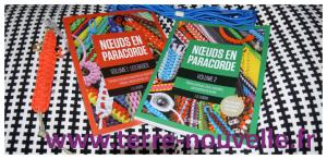 2 livres de référence pour tresser la paracorde