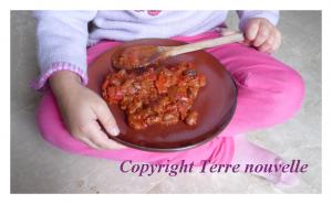 chili con carne sans viande