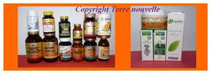 Compléments alimentaires, vitamines, minéraux et produits au naturel