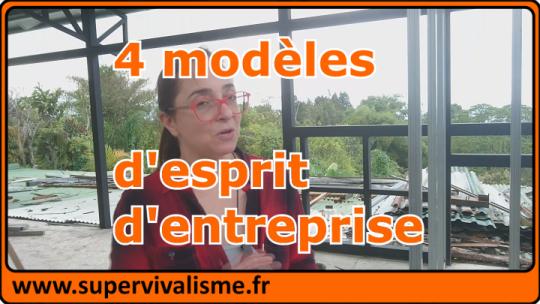 4 états  d'esprit des créateurs d'entreprise