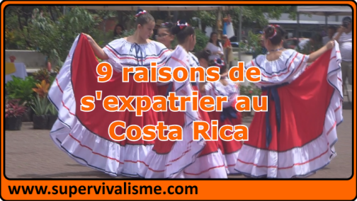 9 raisons de s'expatrier au Costa Rica