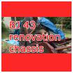 BJ série 40 rénover le chassis