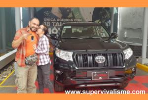 Achat d'une voiture au Costa Rica : un pas de plus vers notre intallation. Notre choix : un PRADO Land Cruiser Toyota