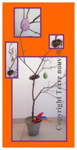 L'arbre de Pâque, Eostre et le lapin de Pâques, les oeufs de Pâques