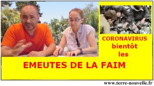 Coronavirus, confinement, crise économique : bientôt les émeutes de la faim...