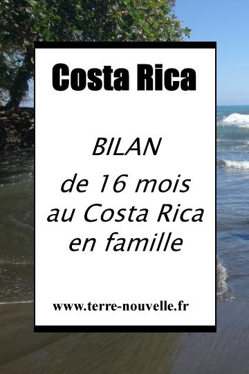 Bilan de 16 mois au Costa Rica en famille