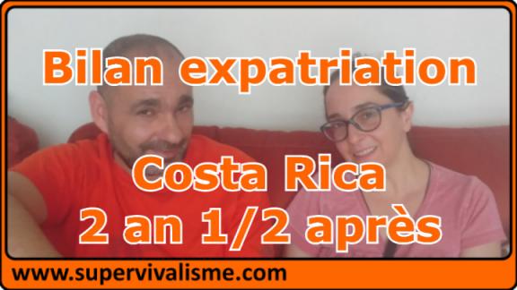 Bilan de notre Expatriation en famille au Costa Rica après 2 ans et demi
