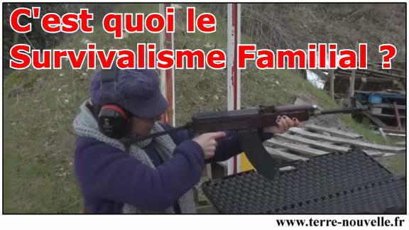 En vidéo, voilà ce qu'est le Survivalisme familial dans le monde francophone !