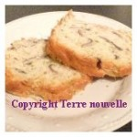Cake champignon emmental jambon