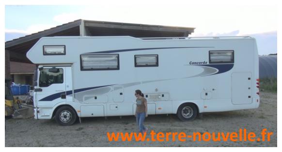 Mode de vie survivaliste altermatif : le camping-car poids lourd