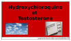 Hydroxychloroquine et testostérone