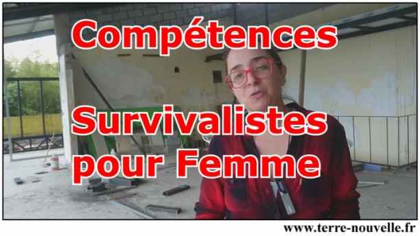 Compétences survivaliste pour femme : et si on parlait survivalisme pour les femmes ?...