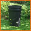 compost à partir d'un bac poubelle : fabrication
