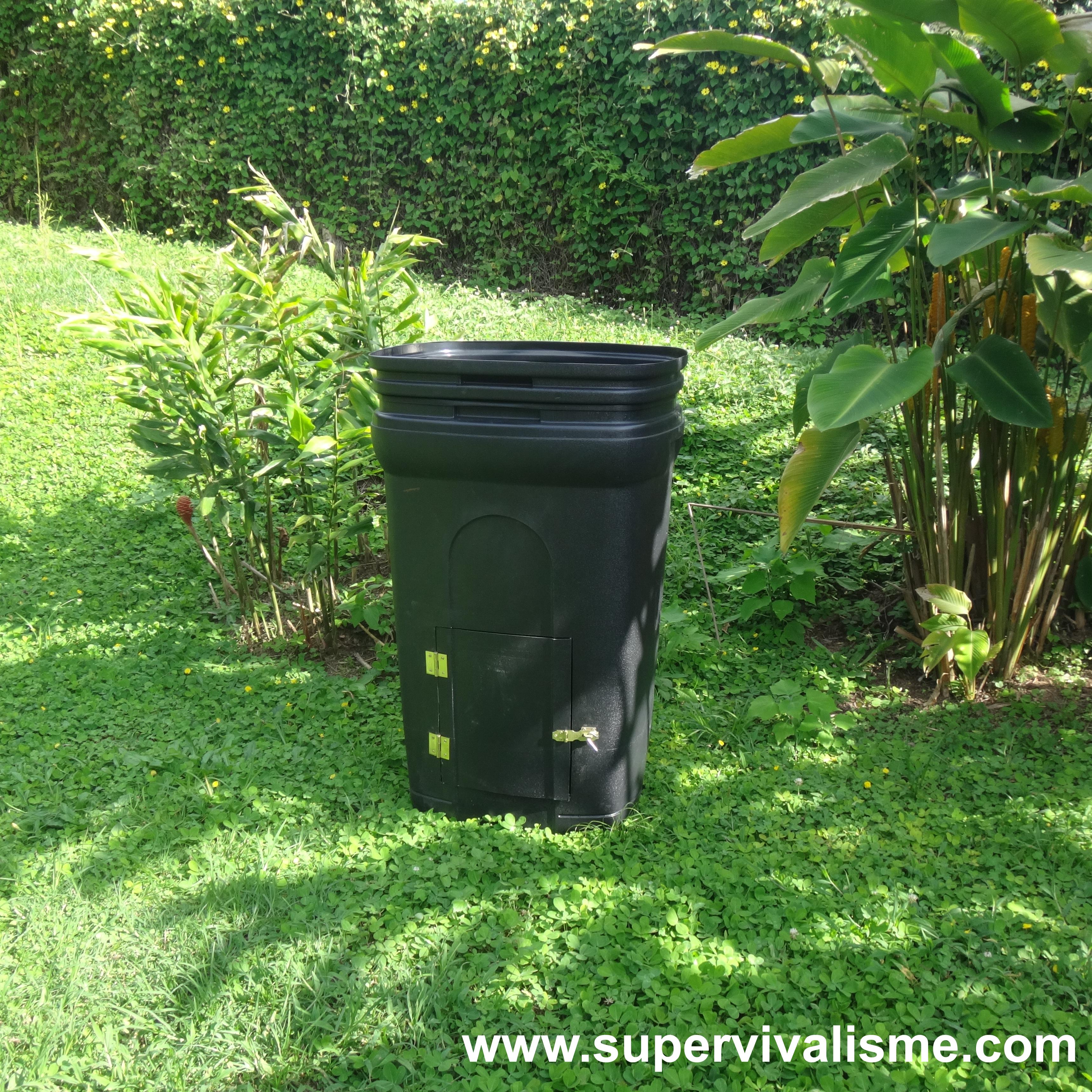 Fabriquer Un Composteur Avec Des Palettes fabrication d'un compost durable à partir d'un bac poubelle