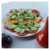Concombre et recettes espagnoles