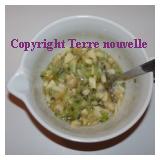 Confiture d'automne banane, kiwi, pomme