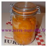 Conserve de carottes en rondelles